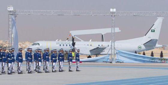 Самолет ДРЛО Saab 2000 AEW&C
