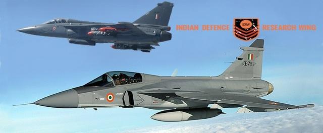 Предполагаемое изображение истребителя Saab Gripen NG в окраске ВВС Индии.