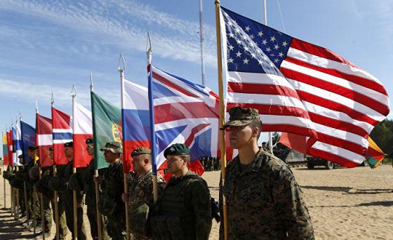 Солдаты из стран НАТО