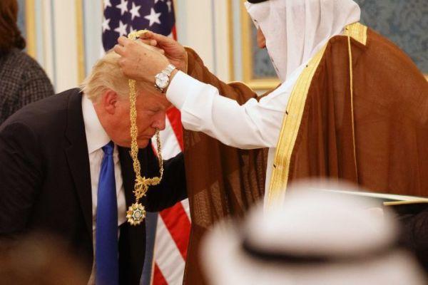 Салман ибн Абдул-Азиз Аль Сауд и Дональд Трамп