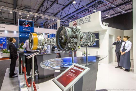 Макет двигателя SaM-146