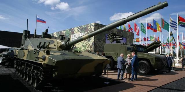 """Самоходная противотанковая 125-миллиметровая пушка """"Спрут-СДМ1"""""""