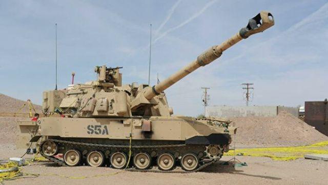 Самоходная артиллерийская установка M109A7 Paladin