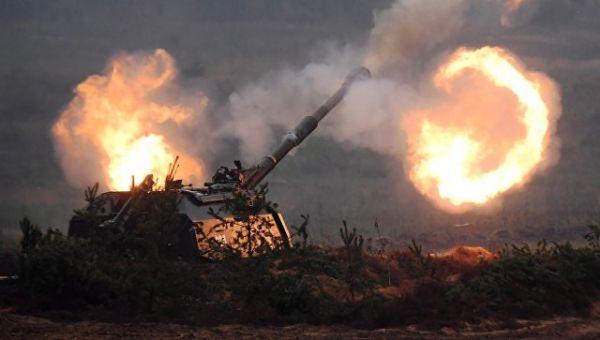 Самоходная артиллерийская установка (САУ) Мста-С