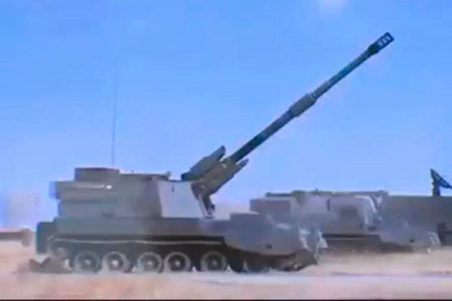 Китайская самоходная гаубица Тип 89.