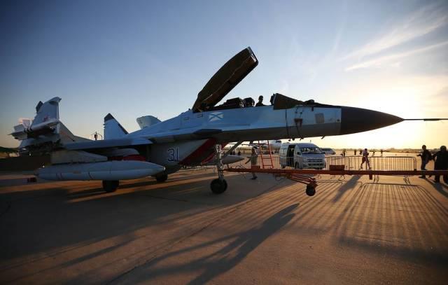Самолет МиГ-29К