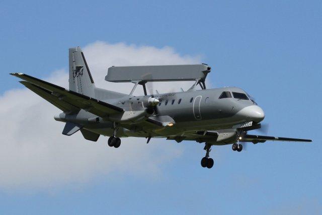 Самолет наблюдения СААБ-340