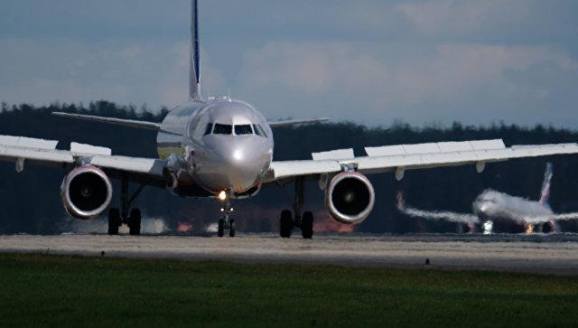 Самолет Airbus. Архивное фото.