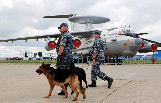 Самолет дальнего радиолокационного обнаружения и управления А-50У