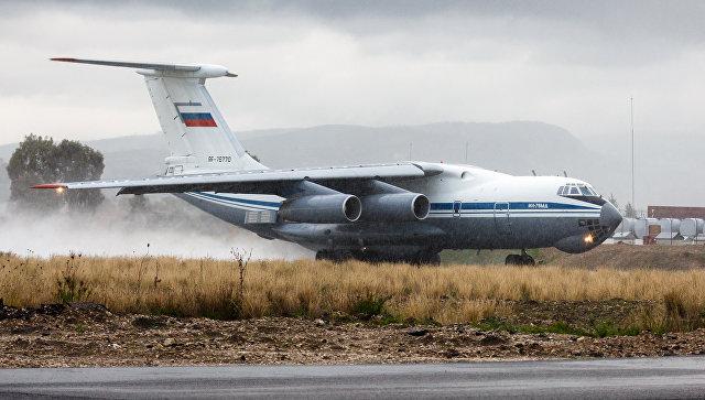 Самолет Ил-76 МД ВКС России. Архивное фото.