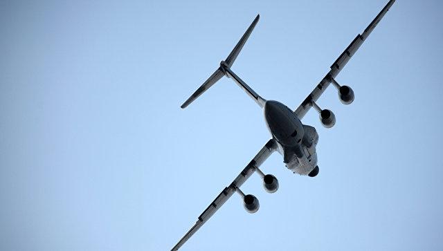 Самолет ИЛ-76МД-90А. Архивное фото.
