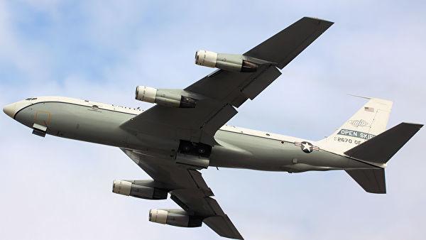 Самолет наблюдения США Boeing OC-135B Open Skies
