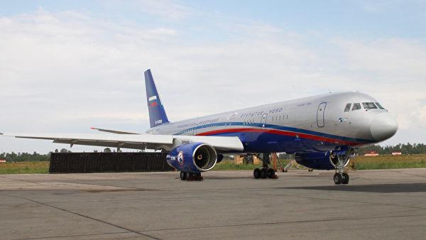 Самолет Ту-214 ОН. Архивное фото