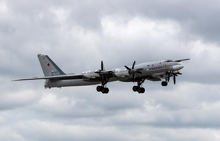 Самолет Ту-95МС.