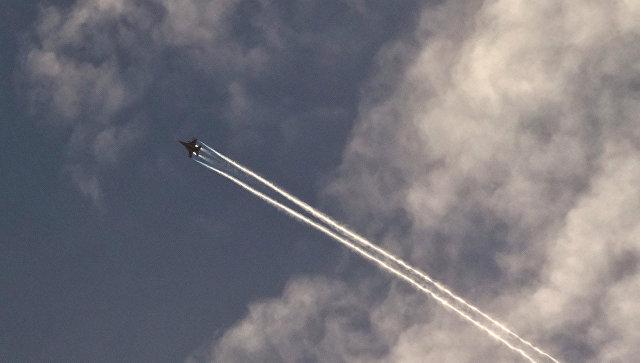 Самолет военно-воздушных сил США. Архивное фото.