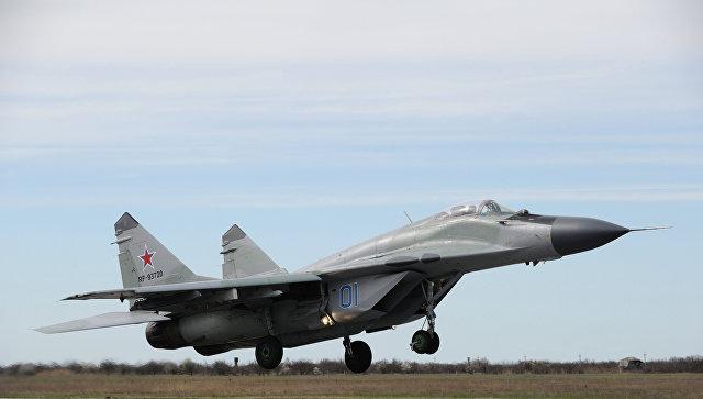 Самолет-истребитель МиГ-29. Архивное фото.