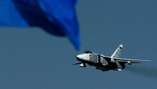 Самолет-разведчик Су-24МР. Архивное фото