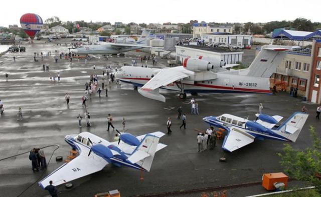 Самолеты-амфибии