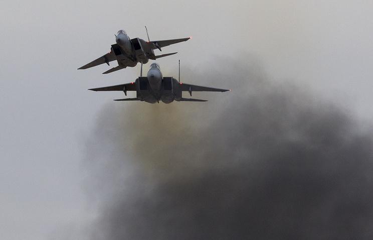 Самолеты F-15 ВВС Израиля.