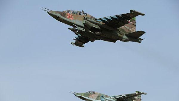 Самолеты Су-25СМ. Архивное фото