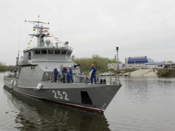 "Ракетно-артиллерийский корабль ""Сарыарка"""