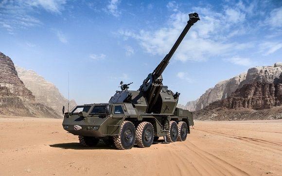 САУ Dana wz. 77 калибра 152 мм.