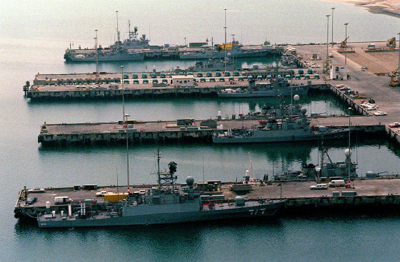 King Abdul-Aziz Naval Base in Jubail
