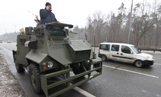 Бронеавтомобиль Saxon AT-105