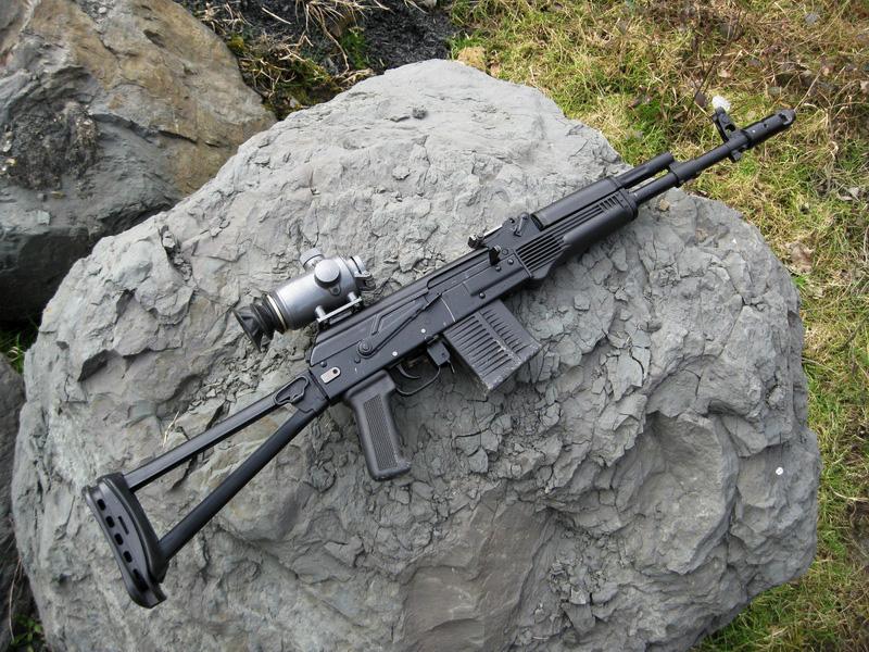 Спортивный карабин «Сайга-МК-107».