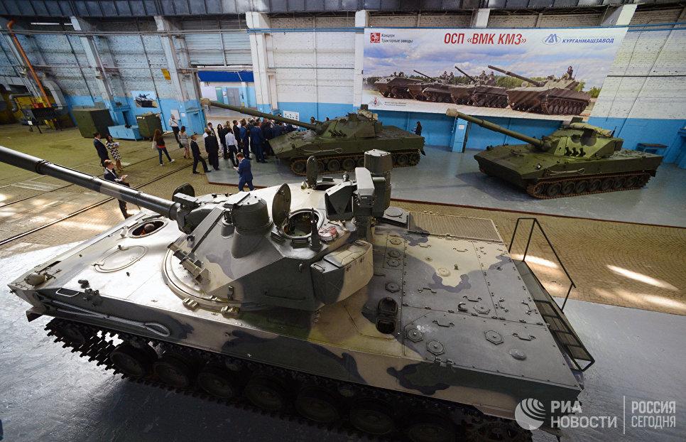 Сборка БМД-4М для ВДВ на Волгоградском тракторном заводе.