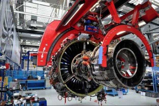 Сборка двигателя LEAP на заводе компании CFM International в Виляроше (Франция).