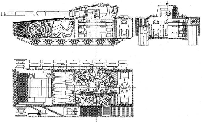 модификации танка Т-90,