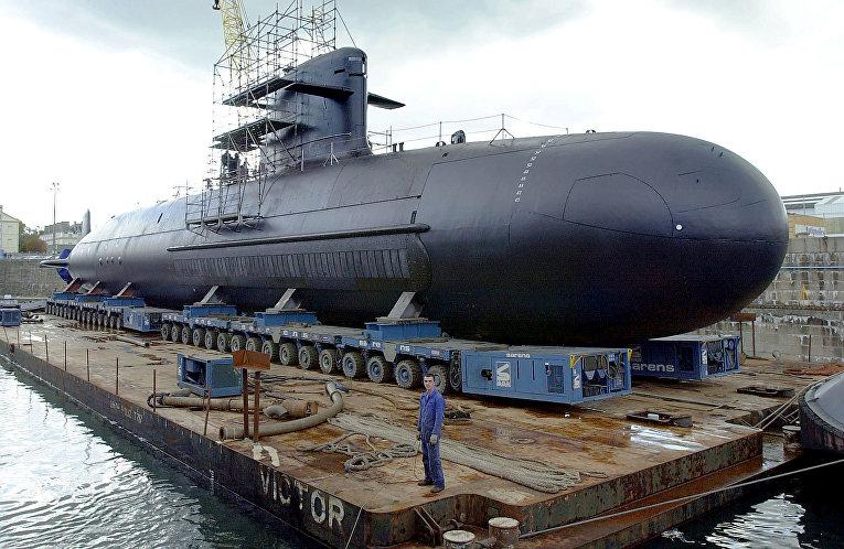 Французская атомная подводная лодка класса «Скорпен».