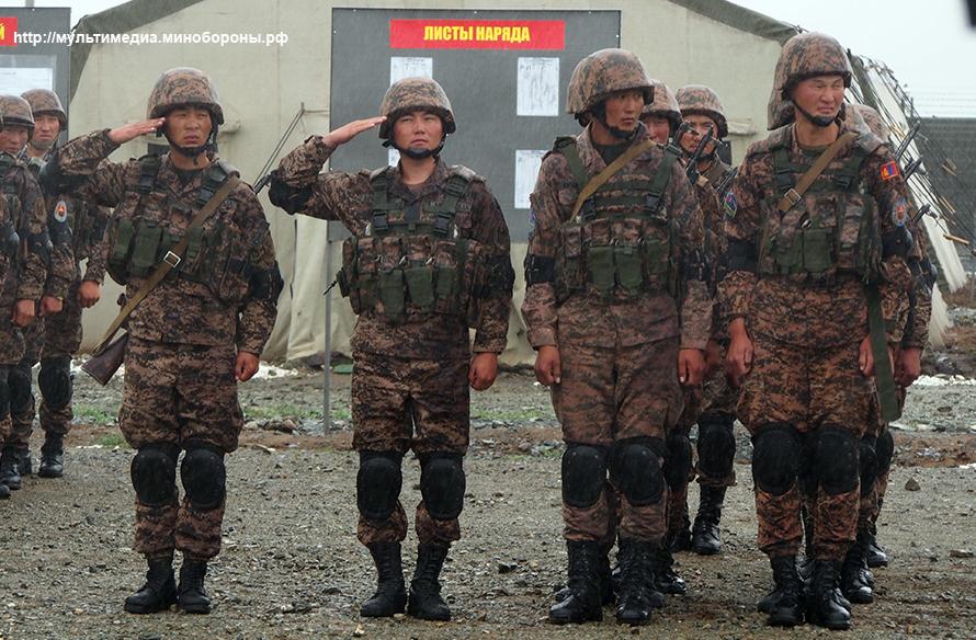 """Российско-монгольские военные учения """"Селенга-2016""""."""