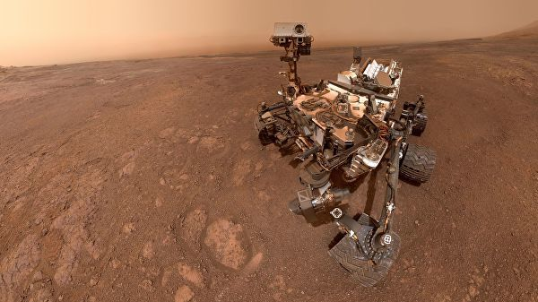 Селфи марсохода Curiosity. 15 января 2019 года