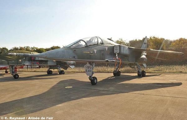 Учебно-боевой самолет SEPECAT Jaguar E ВВС Франции