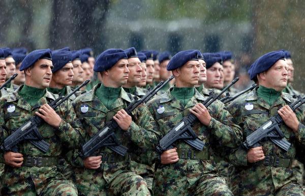 Сербские войска