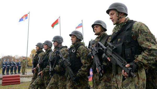 Сербские военнослужащие