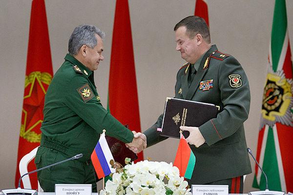 Сергей Шойгу и Андрей Равков