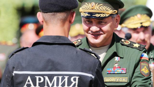 Сергей Шойгу провел реальную реформу Российской армии
