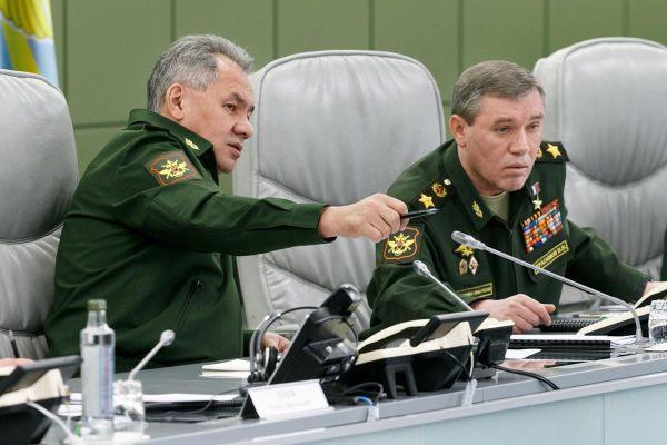 Сергей Шойгу и Валерий Герасимов