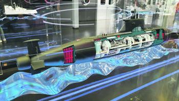 «Сервал» – перспективная лодка с множеством оригинальных технических решений и передовых технологий. Фото предоставлено КБ «Малахит»