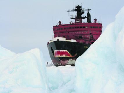 Север России сегодня привлекает не только богатыми недрами, но и широкими логистическими возможностями. Фото с сайта www.rosatomflot.ru