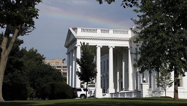 Северное крыло белого дома.