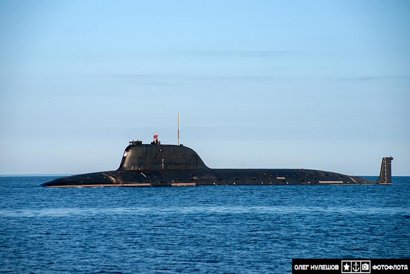 """Подводная лодка """"Северодвинск"""". Проект 885 """"Ясень""""."""