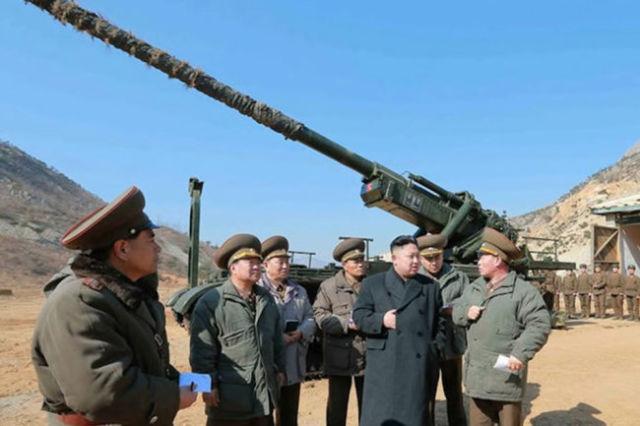 Северокорейская 170-мм пушка