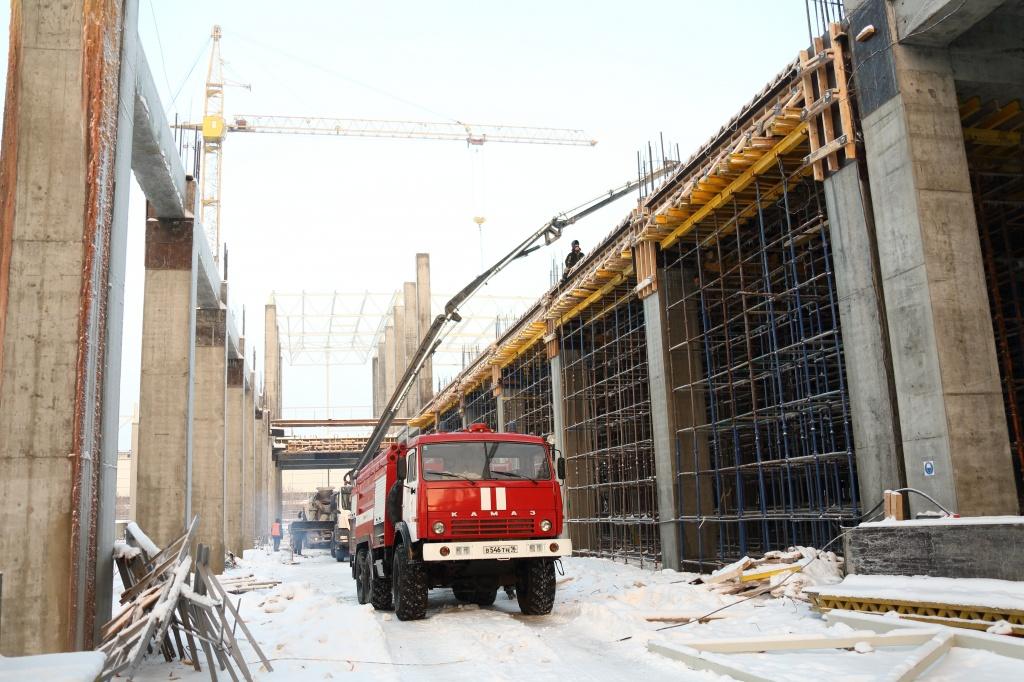 Строительство завода каркасов кабин ПАО «КАМАЗ».