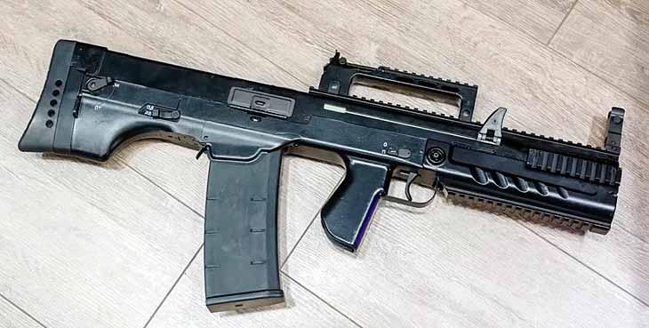 Крупнокалиберный автомат ШАК-12.