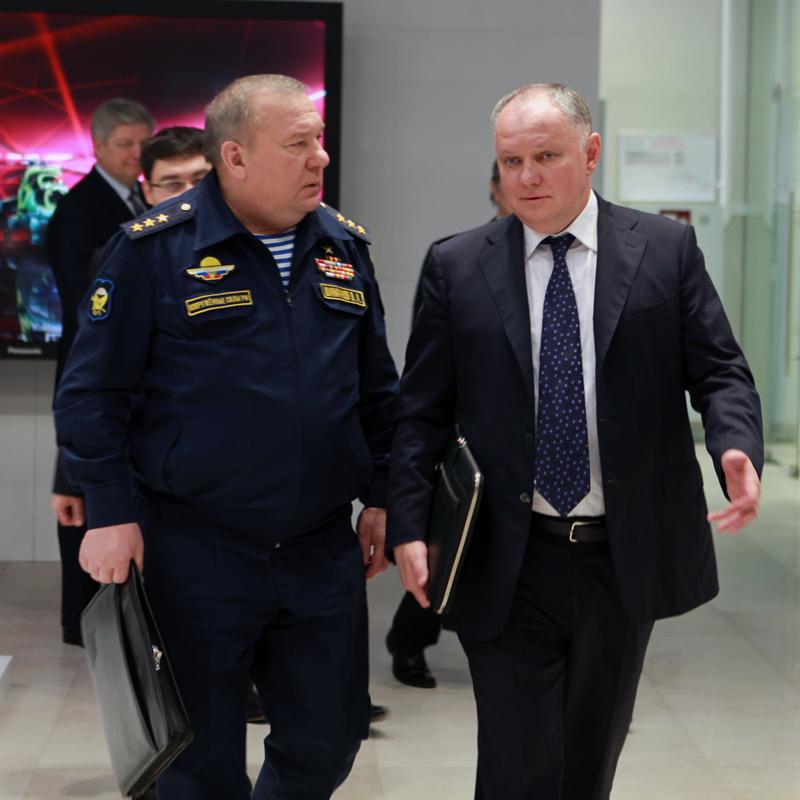 Владимир Шаманов и Александр Михеев.