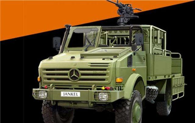 Шасси UNIMOG с колесной формулой 4х4 компании Mercedes